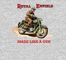 ROYAL ENFIELD BULLET MOTORCYCLE VINTAGE ART Unisex T-Shirt