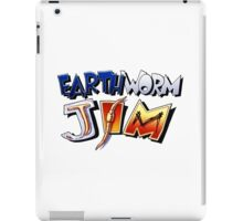 Earthworm Jim Logo iPad Case/Skin