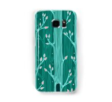 Seamless pattern with trees Samsung Galaxy Case/Skin