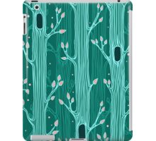 Seamless pattern with trees iPad Case/Skin