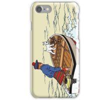 Tintin Boat iPhone Case/Skin