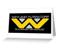 Weyland Yutani Greeting Card