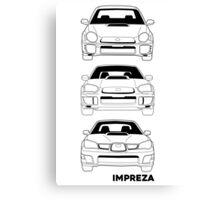 Subaru Impreza Fans Canvas Print