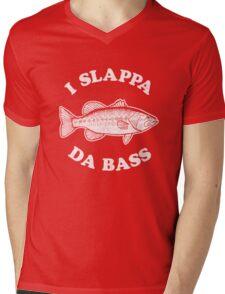 I Slappa Da Bass T-Shirt Mens V-Neck T-Shirt