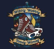 Wibbly wobbly timey wimey  One Piece - Long Sleeve