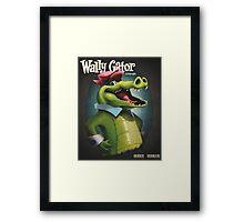 Wally Gator, the Remix Framed Print