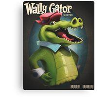 Wally Gator, the Remix Canvas Print