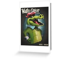 Wally Gator, the Remix Greeting Card