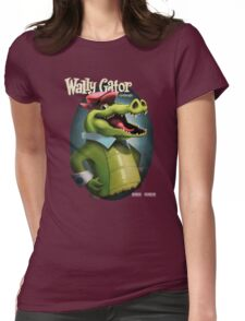 Wally Gator, the Remix Womens Fitted T-Shirt
