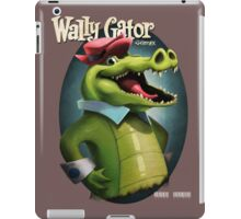 Wally Gator, the Remix iPad Case/Skin