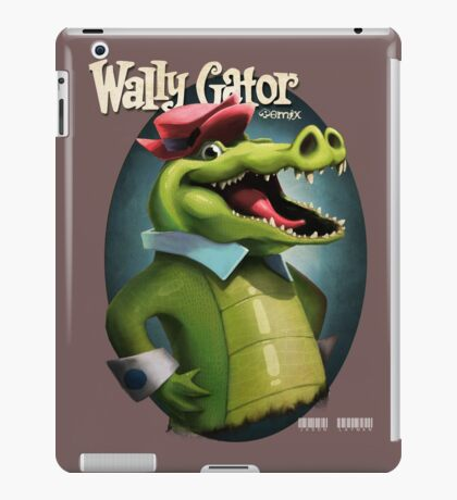 Wally Gator, the Remix iPad Case/Skin