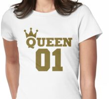 Queen 01 Womens Fitted T-Shirt