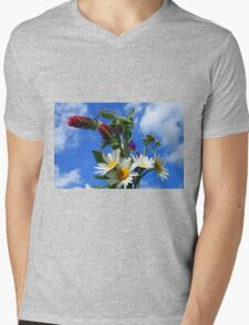 Posy for Mum Mens V-Neck T-Shirt