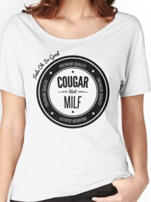 Vintage Retro Cougar Hot Milf T-shirt Women's Relaxed Fit T-Shirt