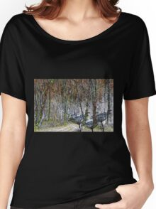 The woods in winter Women's Relaxed Fit T-Shirt