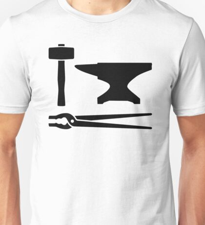 Blacksmith tools Unisex T-Shirt