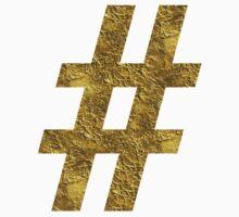 # golden hashtag One Piece - Long Sleeve