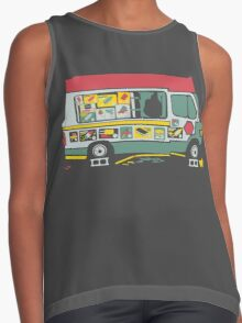 Dissappointed Summer Contrast Tank