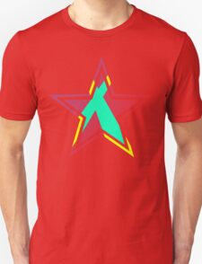 Striped Star [Red] T-Shirt