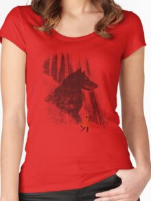 forest friendly Women's Fitted Scoop T-Shirt