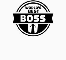 World's best boss Unisex T-Shirt