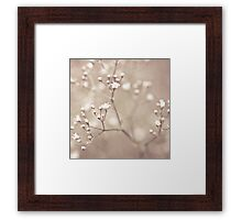 """I was going to be a star in the sky... Framed Print"