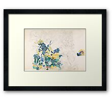 Landscape Henri-Edmond Cross, Framed Print