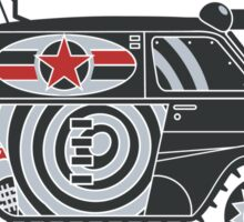 Tank Van Girl Sticker