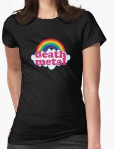 Death Metal Rainbow (Original) Womens Fitted T-Shirt