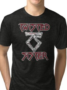 TWISTED SISTER STAY HUNGRY Tri-blend T-Shirt