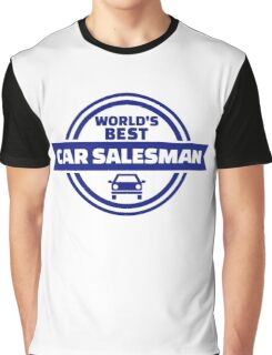 World's best car salesman Graphic T-Shirt