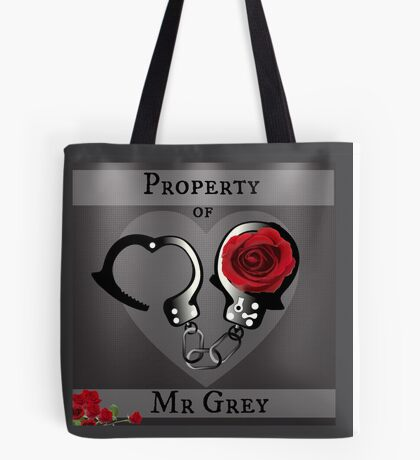 Property of Mr Grey Tote Bag