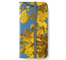 Oak leaves iPhone Wallet/Case/Skin