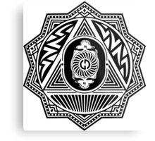 Grateful Dead Steal Your Face Mandala Metal Print