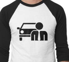 Car salesman Men's Baseball ¾ T-Shirt