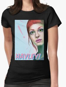 Hayley rocks! Womens Fitted T-Shirt