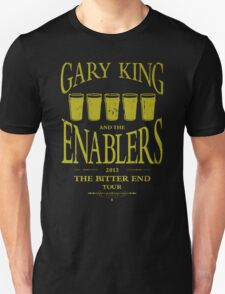 Gary King and the Enablers Unisex T-Shirt
