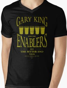 Gary King and the Enablers Mens V-Neck T-Shirt