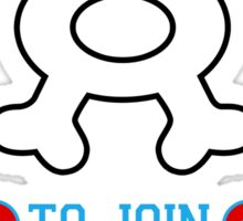 Training to join Team Aqua Sticker