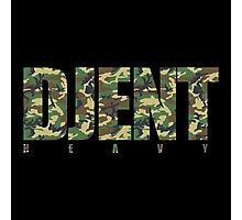 Djent Heavy (Camo) Photographic Print
