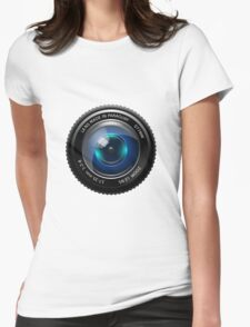 Lens Womens Fitted T-Shirt