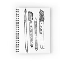 Tools of Creation Spiral Notebook