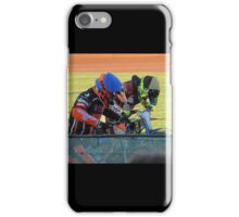 Riders at gates iPhone Case/Skin