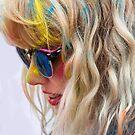 HOLI Color Festival Portrait by Heather Friedman
