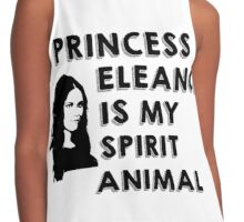 PRINCESS ELEANOR IS MY SPIRIT ANIMAL Contrast Tank