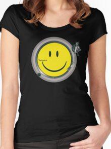 Acid Technics Women's Fitted Scoop T-Shirt