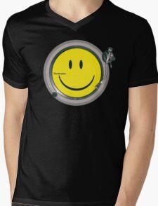 Acid Technics Mens V-Neck T-Shirt
