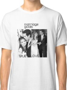 Alyson Hannigan & Alexis Denisof Marriage Goals Classic T-Shirt