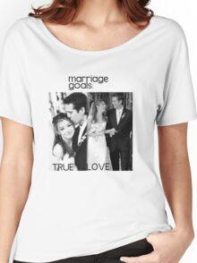 Alyson Hannigan & Alexis Denisof Marriage Goals Women's Relaxed Fit T-Shirt