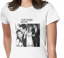 Alyson Hannigan & Alexis Denisof Marriage Goals Womens Fitted T-Shirt